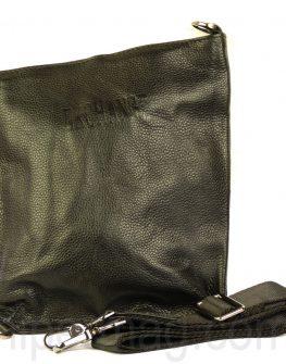 Мъжка чанта Exchange от релефна кожа с надпис