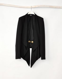 """Черно дамско сако """"Simone"""" - от HANNA"""