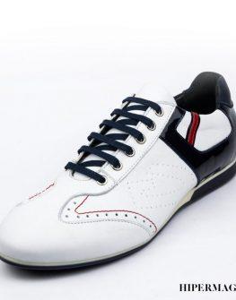 Мъжки ежедневни обувки в бял цвят Sara Pen