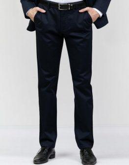 Елегантен панталон в тъмносиньо Styler