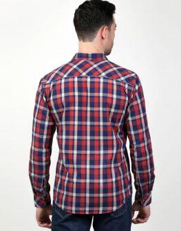 Мъжка карирана риза Styler