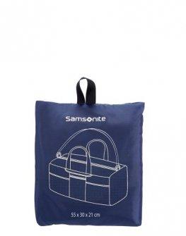 Компактен сак Samsonite в син цвят