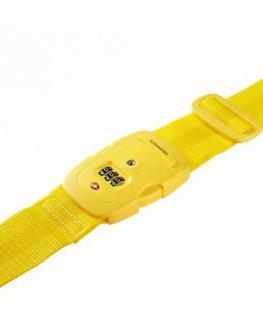 Жълт колан за пристягане на багаж