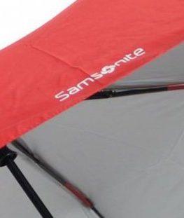 Автоматичен чадър Samsonite в червено