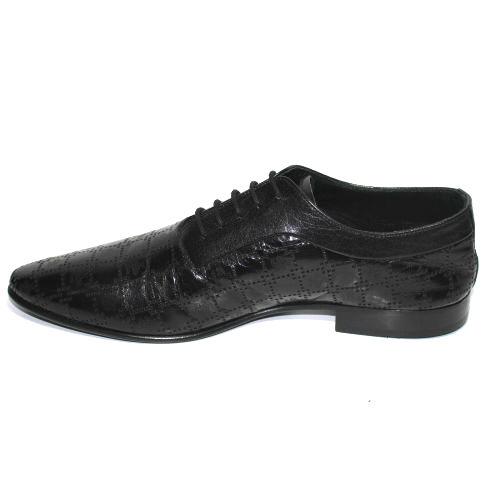 Стилни мъжки обувки с перфорация Sara Pen