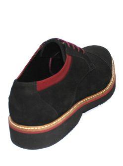 Мъжки обувки Sara Pen с акценти в бордо
