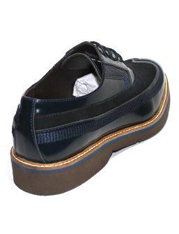 Мъжки обувки Sara Pen в син цвят