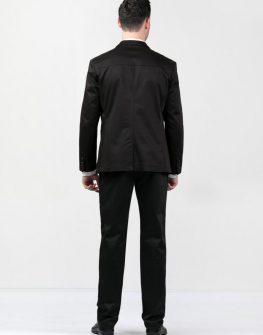 Елегантен мъжки костюм в черно Styler