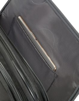 Черен куфар Samsonite на две колелца