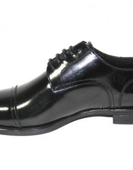 Стилни обувки Sara Pen - черен лак