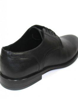 Изчистени мъжки обувки в черно Sara Pen