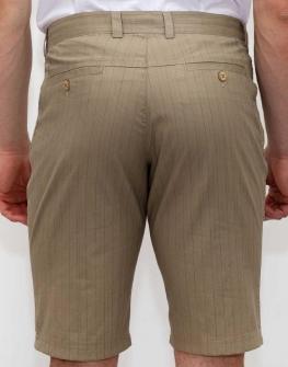 Кафяв мъжки къс панталон Styler