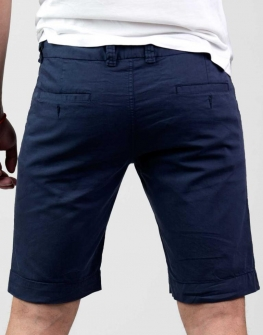 Мъжки къс панталон в тъмносиньо Styler