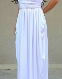 Дизайнерска рокля в бяло Kotyto