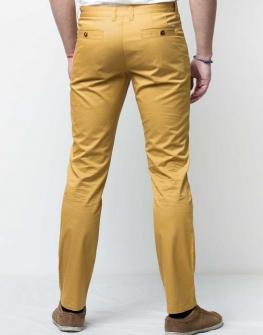 Мъжки панталон в жълто Styler