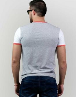 Сива тениска с щампа Styler