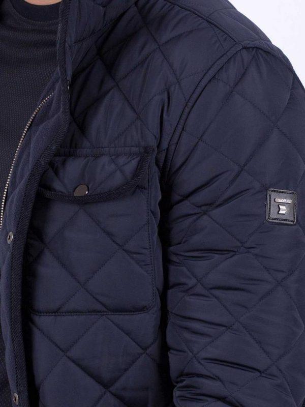 Мъжко яке в тъмносин цвят Styler