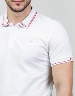 Изчистена мъжка блуза с яка Styler