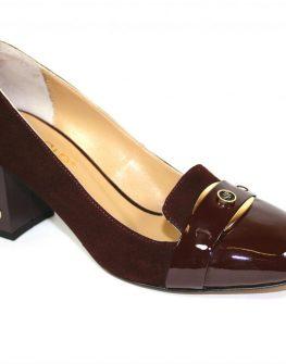 Елегантни дамски обувки в бордо Sara Pen
