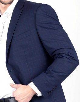 Мъжки тъмносин костюм Styler