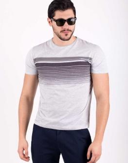 Сива мъжка тениска STYLER