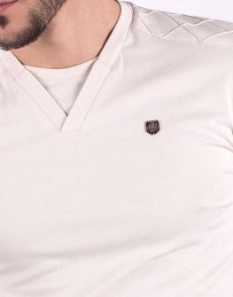 Бежова мъжка блуза STYLER