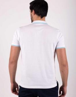 Памучна мъжка блуза с яка STYLER