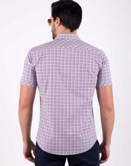 Мъжка риза STYLER на цветно каре