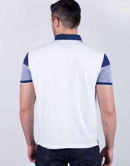 Мъжка блуза STYLER - в син меланж