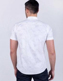 Мъжка риза STYLER с къс ръкав