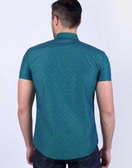Мъжка риза STYLER на зелено