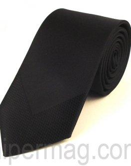 Мъжка вратовръзка New Line - черна