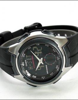 Мъжки часовник Часовник Casio AQ-160W-1BVEF