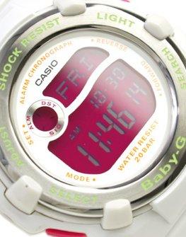 Дамски часовник Часовник Casio BG-3000A-7ER