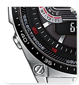 Мъжки часовник Casio ECW-M300EDB-1AER