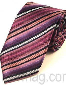 Мъжка вратовръзка New Line - лилави нюанси