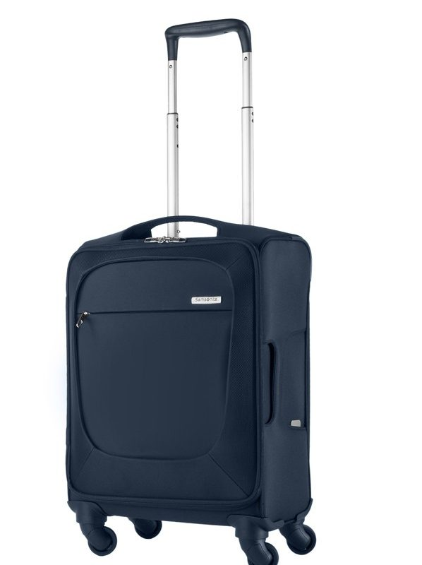 Спинер Samsonite  на 4 колела B-Lite 55 см. (Син)