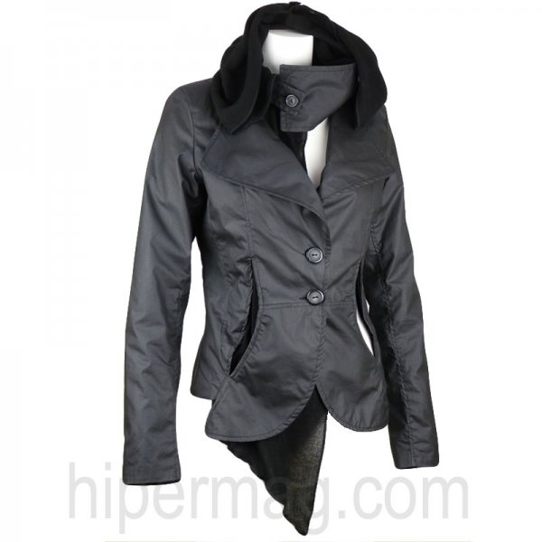 Есенно дамско яке – сако с качулка