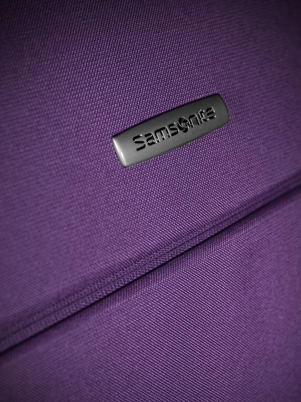 Куфар на 2 колела Samsonite Sahora ReGeneration 55см. (лилав)