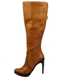 Дамски ботуш от естествена кожа Dumond