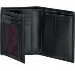 Мъжки портфейл Samsonite от естествена кожа (черен)