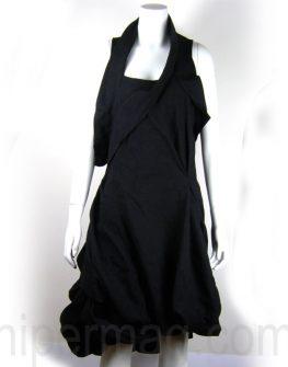 Дизайнерска рокля тип балонче2