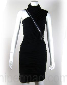 Дизайнерска вечерна рокля с набори