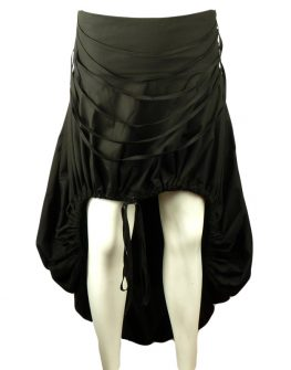 Дизайнерска пола със спирала от копчета