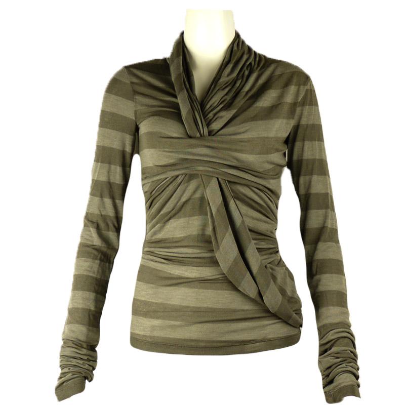 Дизайнерска блуза на райета