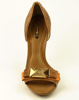 Летни дамски обувки DUMOND на висок ток