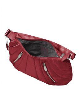 Средна дамска чанта Samsonite Hobo Midtown - цвят бордо