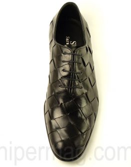 Sara Pen - черни мъжки обувки