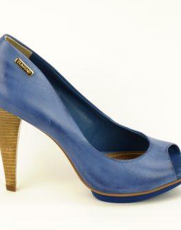 Елегантни дамски обувки DUMOND в свежо синьо