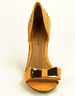 Дамски обувки DUMOND в интересен летен стил